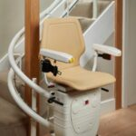 Curved Reconditioned Stairlift