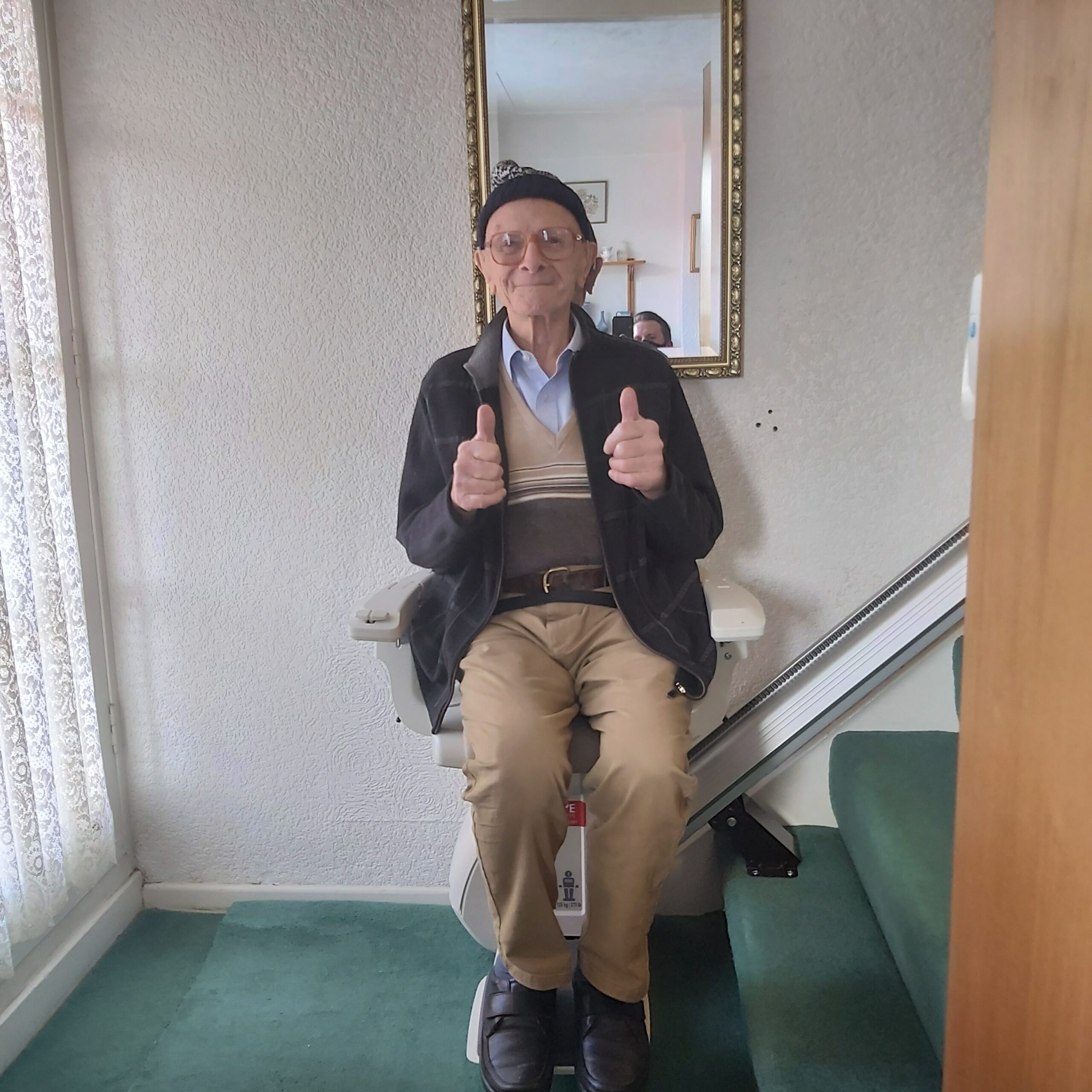 WIN a stairlift competition – Our Winner!!